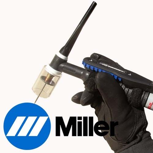 TIG Torch Remote Hand Amperage Control Miller 6 Pin Rotary - Cable Length: 28 ft