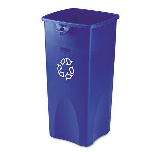 Rubbermaid 23 Gal. Untouchable Recycling Container (Blue) 356973BE New