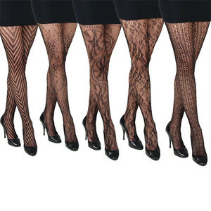 5-Pairs-Gorgeous-Black-Fishnet-Patterned-Fashion-Tights