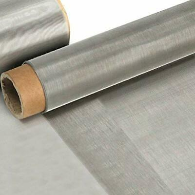 304 Stainless Steel Woven Wire Mesh 80 0.18mm Hole - About 11.8 X 39.4 Inch Roll