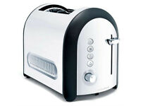 Morphy Richards Meno 44340 Lidded 2 Slice Toaster, polished variant
