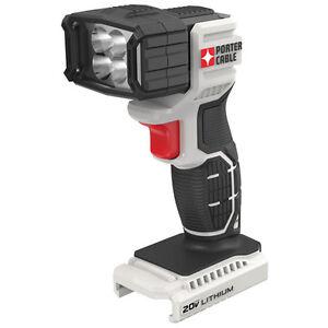 PORTER CABLE 20V MAX* Lithium LED Flashlight (Unit Only) - PCC700B
