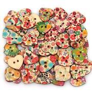 100 Wooden Buttons