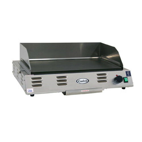 "Cadco Cg-20 24-1/2"" Medium-duty Electric Buffet Countertop Griddle"