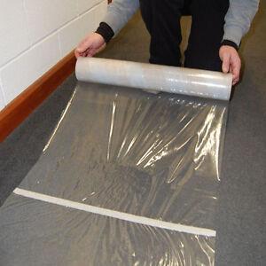 600mm x 25m diy decorating carpet floor protector protection film roll ebay - Decorating carpet protector ...
