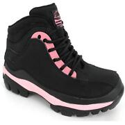 Ladies Steel Cap Boots