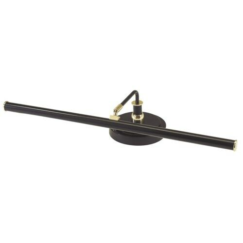 House of Troy Black LED Piano Lamp PLED101-617 Brass Accents