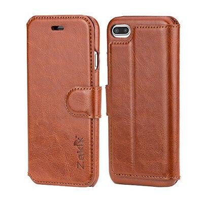 Lot of 10 iPhone 7 Plus Leather Pocketbook Case by Zakix(TM)