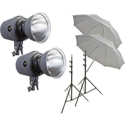 Impact Two Digital Monolight Kit without Case (120VAC) 800 Total (Two Monolight)