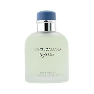 Light Blue By Dolce   Gabbana 4 2 Oz Cologne For Men Tester With Cap