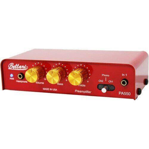 Rolls PA550 Bellari Preamplifier with RIAA Phono Preamp and Headphone Amp