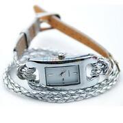 Ladies Silver Bracelet Watch