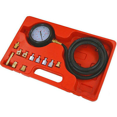 Automatic Wave Box Oil Pressure Meter Tester Gauge Test Kit Petrol Diesel Garage