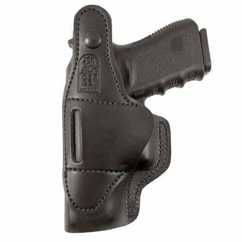 DeSantis Dual Carry II Black Right Hand Soft Leather Holster Fits Glock 26-27-33