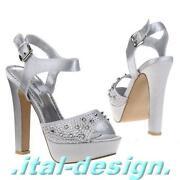 Silber Schuhe 39 Pumps