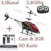 Helikopter mit Kamera