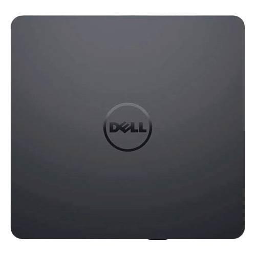 Dell - USB Slim DVD+/- RW Drive - Plug and Play - DW316 - Black