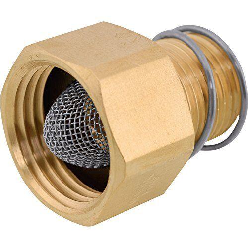 General Pump Brass Pressure Washer Garden Hose Adapter - 200 PSI, 1/2in. NPT-M