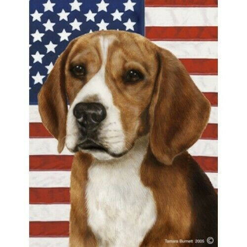 Patriotic (D2) Garden Flag - Beagle 320071