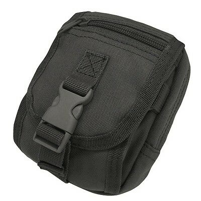 Condor MA26 BLACK Tactical MOLLE PALS Gadget Tool Camera Cell Phone Pouch