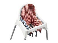 IKEA Antilop Highchair with cushion