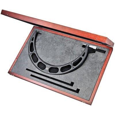 Starrett Outside Micrometer Wcase 425-450mm 436mxrlz-450 New