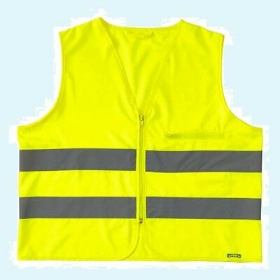 Ikea Beskydda Safety Vest Yellow Xs Extra Small 103.157.3529.25visibility New