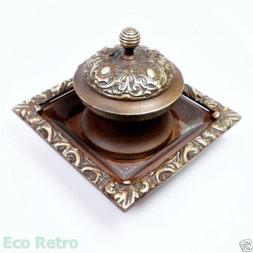 Brass Inkwell Ebay