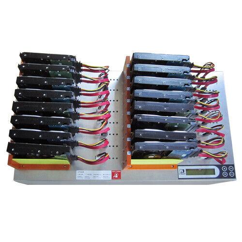 Ureach 1:15 HDD/SSD Hard Drive Duplicator/Sanitizer 9GB/Min Copier/Erase MT1600G