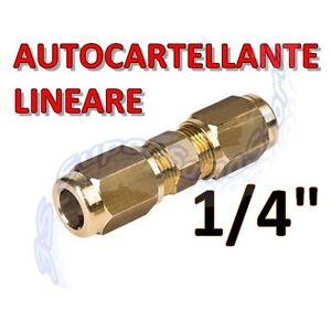 3s raccordo manicotto autocartellante 1 4 per tubo rame