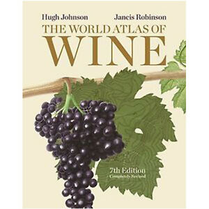 The World Atlas of Wine,7th Edition by Hugh Johnson 9781845336899 NEW
