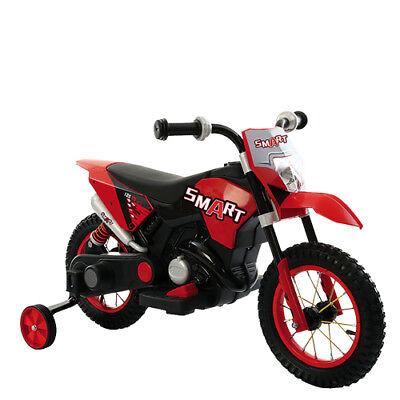 Moto elettrica 6V per bambini con luci e suoni Motocicletta enduro motocross