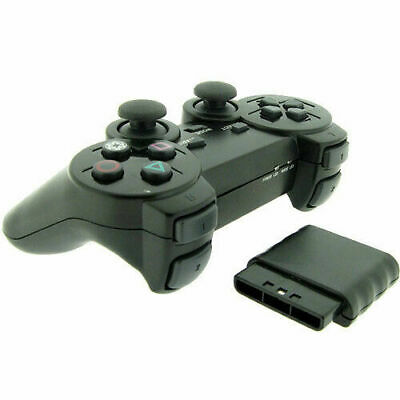Wireless 2.4GHz Dual Shock Game Controller for Sony PS2