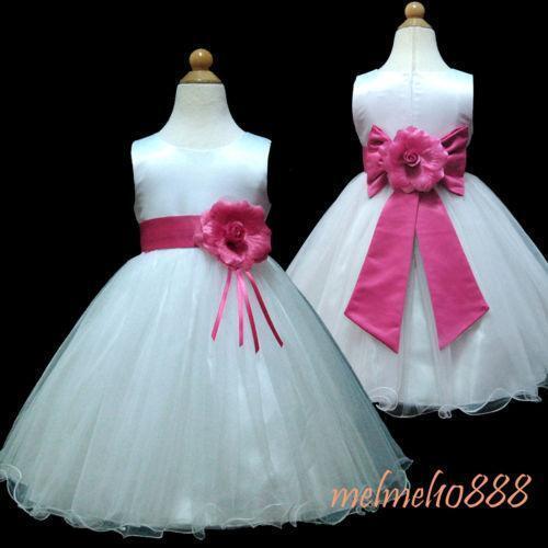 3297148b968d Baby Girl Flower Dresses