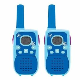 Digital Disney Frozen Walkie Talkies With LCD Screen & 3 Mile Range