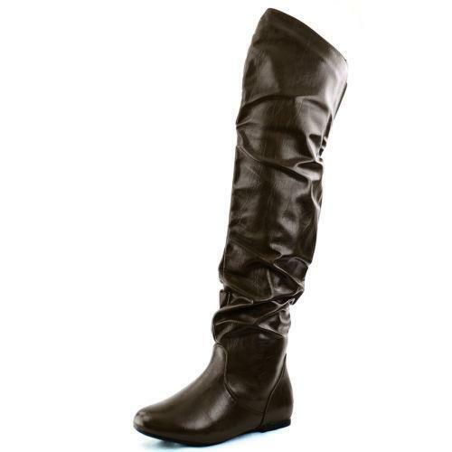 knee high leather boots size 11 ebay