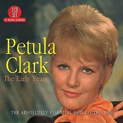 Petula Clark - Early Years: Absolutely Essential 3CD Collection [New CD] UK - Im Early Years Cd Album