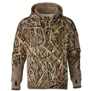 Browning Wicked Wing Smoothbore Hoodie Mossy Oak Shadow Grass Blades X-LARGE XL