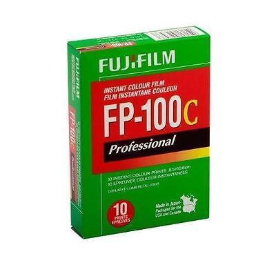 Fujifilm Fuji FP-100C Instant Color Film 10 Exposures 05/2018