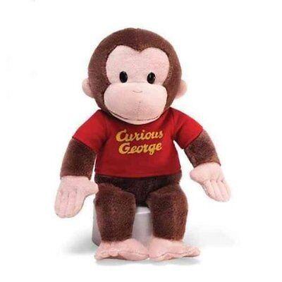 "Gund Stuffed Animals 12"" Monkey Curious George Soft Toy Plush Cuddle Kids Baby"