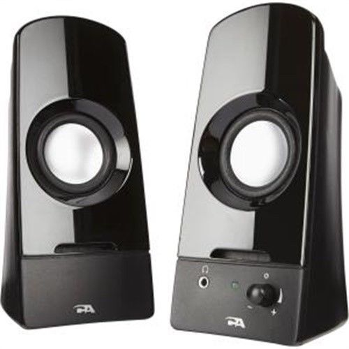 Cyber Acoustics Curve Sonic 2.0 Speaker System - 3 W RMS - V