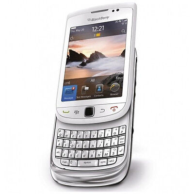 Blackberry Torch 9800 GSM Smartphone (White) (Unlocked) NEW! on Rummage