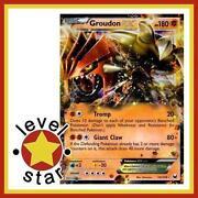 Pokemon Cards Groudon