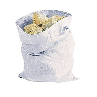 "200 Heavy Duty Rubble Sacks Size 20x30/"" Black Strong Sacks Waste Rubbish Bags"