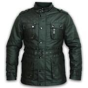 Mens Wax Jacket Small