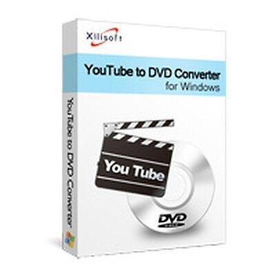 Xilisoft Youtube To Dvd Converter  Make Burn Create Convert Flv Videos To Dvd