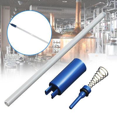 Plastic Spring Loaded Beer Bottle Filler Valve Auto Release Homebrew 285mmx8mm