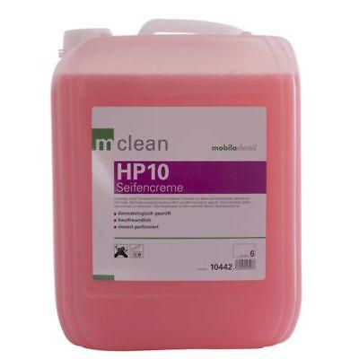 Mobiloclean Seifencreme Sanolin HP10 hautfreundlich dermatologisch geprüft 10 lt