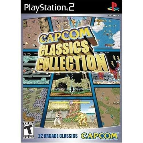 $8.19 - PLAYSTATION 2 PS2 GAME CAPCOM CLASSICS COLLECTION BRAND NEW & FACTORY SEALED