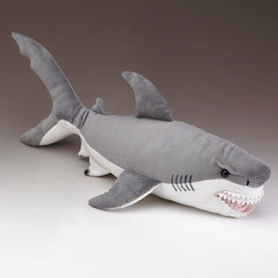 Wildlife Artists Great White Shark Stuffed Animal, X-Large